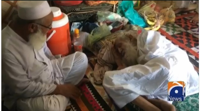 120 years old religious scholar who performed 34 Hajj and 45 Umrahs